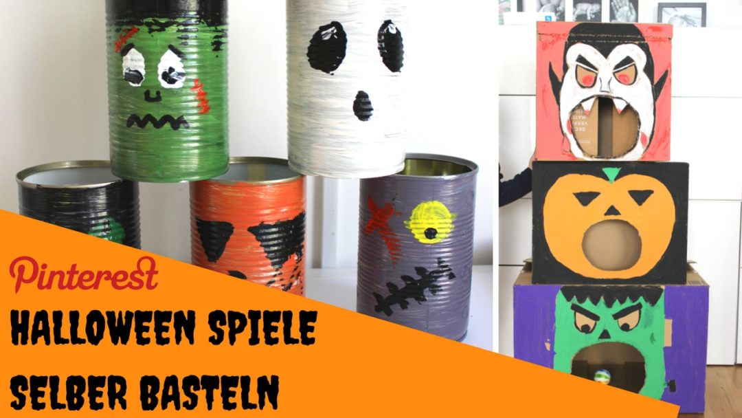 halloween spiele selber machen. Black Bedroom Furniture Sets. Home Design Ideas